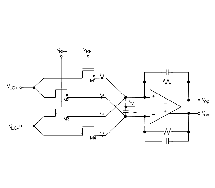 Potentiometric Mixers Intgckts